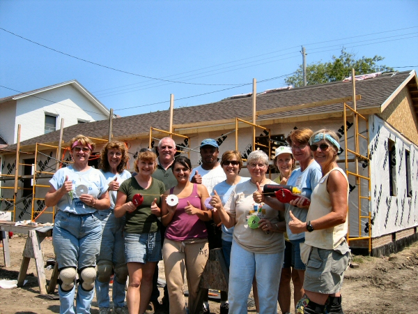 Habitat Did Thumbs Up for THOR Roofing Tools