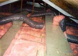 creating attic heat problems